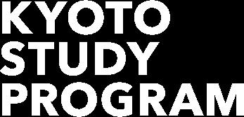 KYOTO STUDY PROGRAM